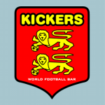 キッカーズ (WORLD FOOTBALL BAR KICKERS) ロゴ